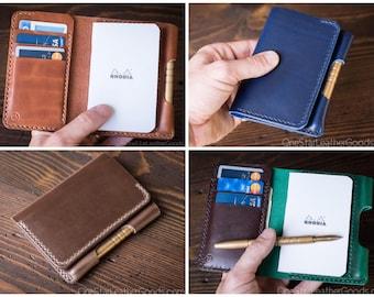 "BUILD-YOUR-OWN - ""Park Sloper Medium"" Notebook/Wallet/Pen"