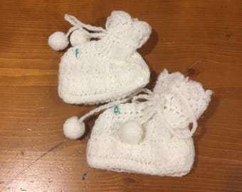 Baby Booties 0/12 Months