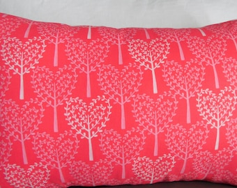 2 Patterns.Anniversary.VALENTINES DAY Decor.Toss Pillows.Throw Pillows.Pillow Covers.Slipcovers.Ticking Flannel.Pinks.White.Hearts