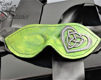 Blind Fold- Celtic Heart Knot