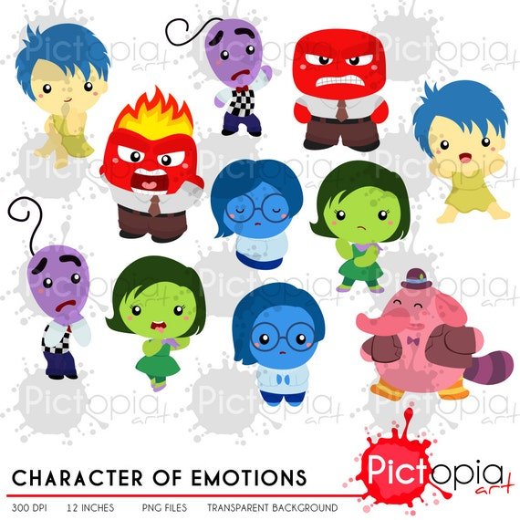 character of emotions clipart cartoon clip art cute png rh etsy com emotions clipart black and white emotions clipart black and white