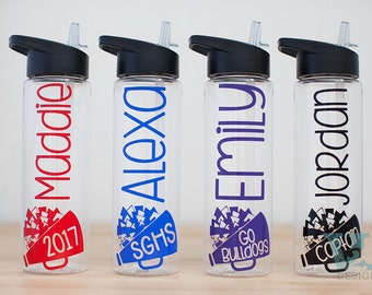 Cheerleading Gift - Cheer Bottle - Cheerleader Gift - Personalized Bottle - Custom Water Bottle - Customized Cheer - Team Gifts - Customize