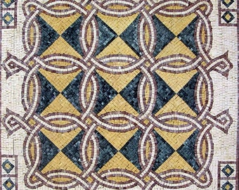 Geometric Mosaic Art - Alba