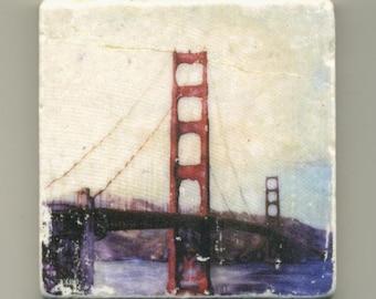 Golden Gate Bridge Original Coaster