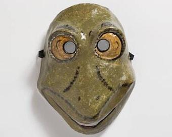 Neues Jahr-Frosch-Papier-Maske