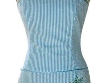Vintage 90s Strapless Corset Dress from Laundry by Shelli Segal - Size 6