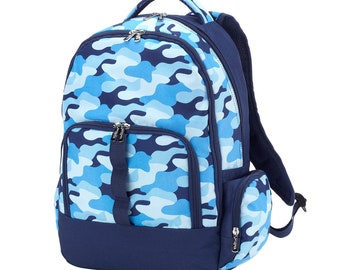 Cool CAMO Backpack with FREE Name or Monogram