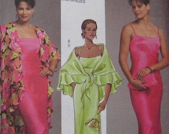 Butterick Wrap Dress Pattern 4733 Plus Size