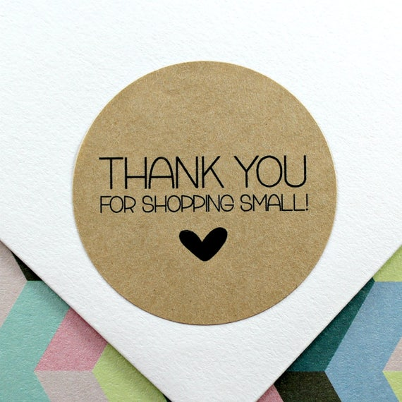 Thank you stickers etsy shop stickers small business stickers thank you for shopping small stickers etsy shop labels 11 0001 018 from hootevents on