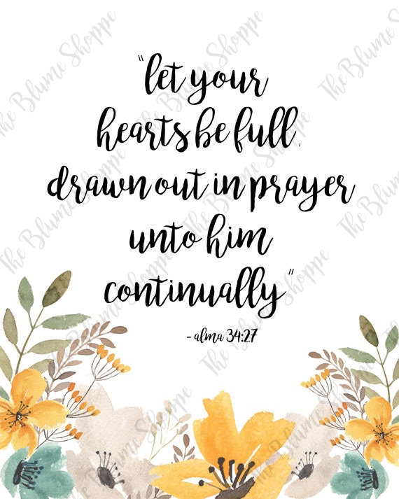 Let Your Hearts be Full