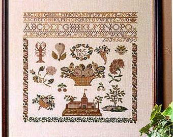 Antique Sampler - Permin