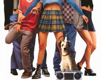 Empire Records (1995) movie poster 11 x 17 Anthony LaPaglia indie record shop Rory Cochrane Liv Tyler Renée Zellweger event Rex Manning Day