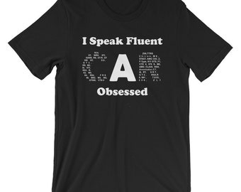 Car Lovers Shirt - Fluent Car Obsessed, funny shirts, gift for him, and her, hilarious tees