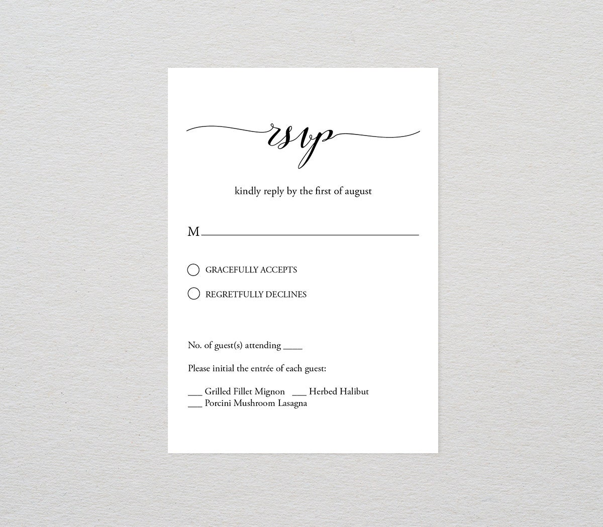 This is an image of Magic Free Printable Rsvp Cards