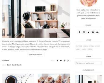 Blogger Template, Blogger Theme, Template Responsive, Minimal, Simple, Grid, Slider, Design, Blogspot - LIVE: www.bit.ly/EzeTheme