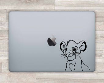 Lion King MacBook Decal Disney MacBook Sticker Simba MacBook Pro 2016 Lion King Laptop Decal Laptop Sticker MacBook Air Retina Vinyl m1119