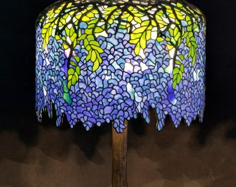 Table lamps etsy tiffany table lamp tiffany lamp tiffany wisteria table lamp lamp stained glass lamp bespoke glass tiffany lamp replica tiffany lamps aloadofball Choice Image