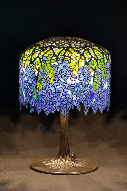Tiffany table lamp tiffany lamp tiffany wisteria table zoom aloadofball Image collections