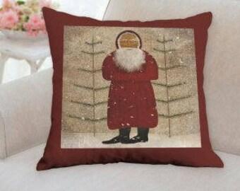 Santa Christmas Pillow