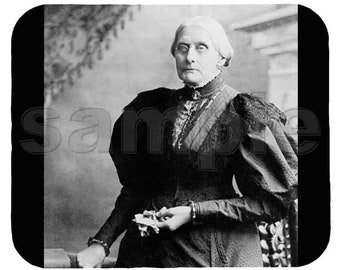 Mouse Pad; Susan B Anthony