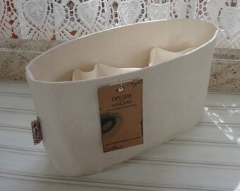 Natural / Purse ORGANIZER Insert SHAPER / Flexible or Stiff Bottom / STURDY / 5 Sizes Available /Check out my shop for more colors & styles