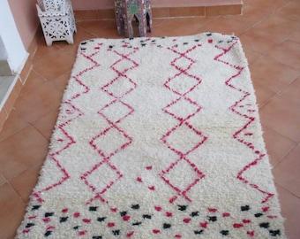 Beni Ourain rug 30% off Moroccan Rug children rug kids Rug nursery rug fluffy soft rug per bedroom rug wool rug Morocco rug Zayania Rugs