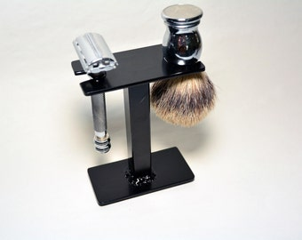 Compact Shaving Stand for Razor, Brush, and Accessories.  FREE SHIPPING!!!
