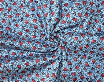 "Heart Print Broadcloth Fabric - 96"""