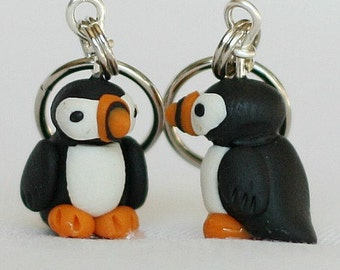 Puffin Stitch Markers (set of 4)