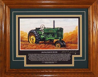 John Deere Model 60 1952 to 1956 with History