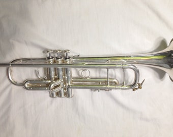 1950's Bach Stradivarius Trumpet - Model 37 US Made In Mount Vernon