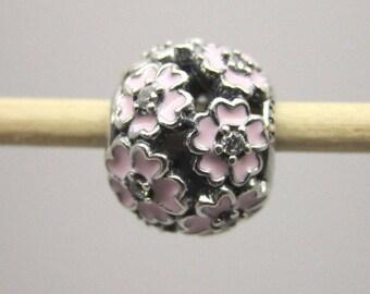 Authentic Pandora Primrose Primrose Flower Clear CZ Pink 791488EN68