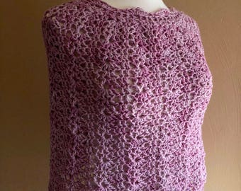 Capelet, Poncho, Cowl, Circle Scarf, Accessories, Gift Ideas, Crocheted Scarf, Crochet, Crocheted Cowl