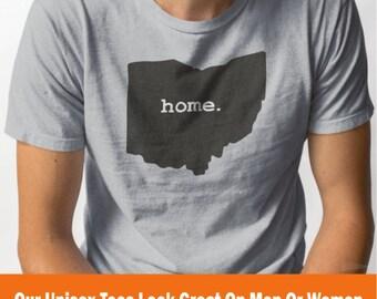 Ohio Home Soft Grey T-Shirt
