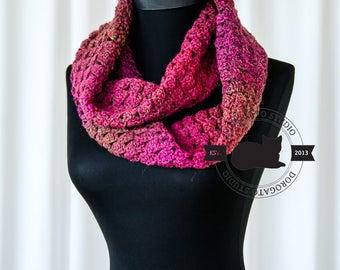 Crochet Scarf Pattern, Easy Crochet Pattern, PDF Pattern, Scarf Pattern, Crochet Infinity Scarf Pattern, Instant Download /1023/