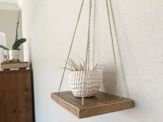 etagere bois corde. Black Bedroom Furniture Sets. Home Design Ideas