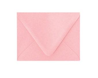 Blossom Pink A2 Envelopes, 5.75x4.375 Envelopes, Paper Source Pointed Flap Envelopes, sold in sets of 10