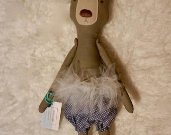 Plush Teddy dancer