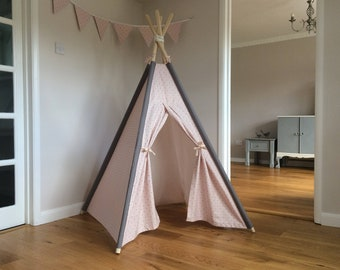 tipi gris rose tipi tipi de princesse princesse chambre. Black Bedroom Furniture Sets. Home Design Ideas