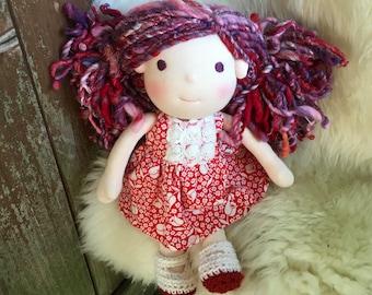Azalia, 12 inch Waldorf Doll