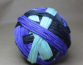 Hand Dyed Self Striping Sport Yarn