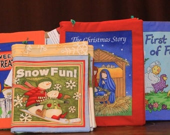 Cloth Book for Children - First Book of Faith
