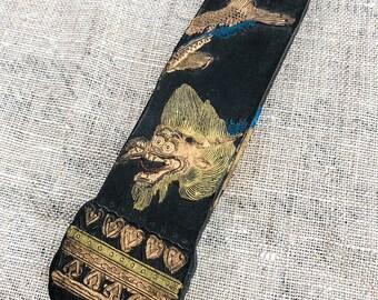 Water Dragon Vintage Ink Stick