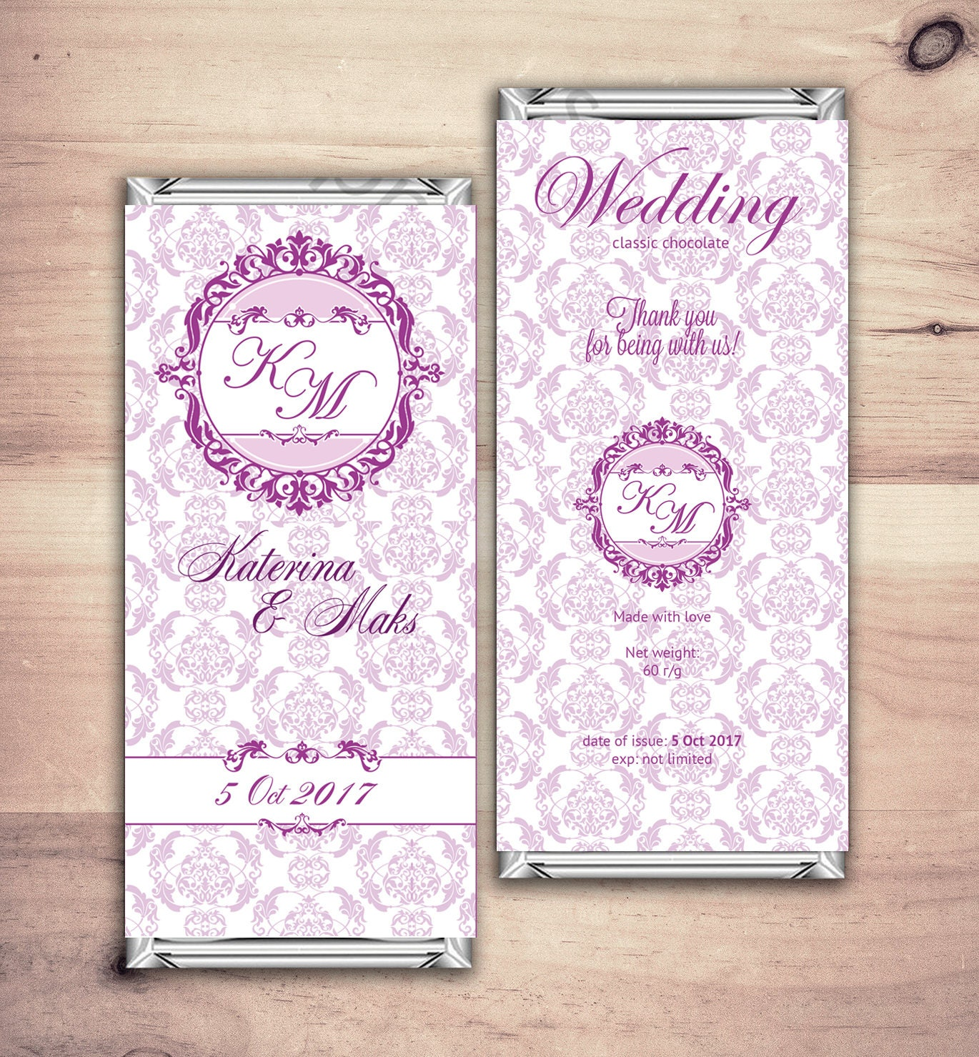 candy bar wrapper template wedding bar sweets desert table sign ...