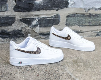 New Nike Air Force 1 Gucci GG Sneakers