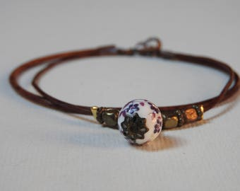 BROWN SUGAR bracelet/bracelet