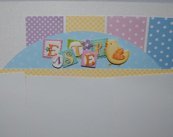 Pre-Made 12 x 12 Easter Layout