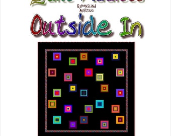 OUTSIDE IN - Quilt-Addicts Patchwork Quilt Pattern