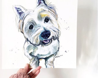 Custom Pet Portrait - Acrylic