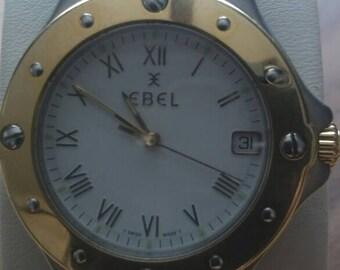 Ebel Superwave - quartz -  steel and gold